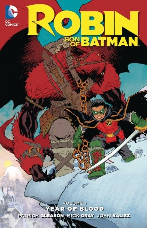 ROBIN SON OF BATMAN VOLUME 1 YEAR OF BLOOD HARDCOVER