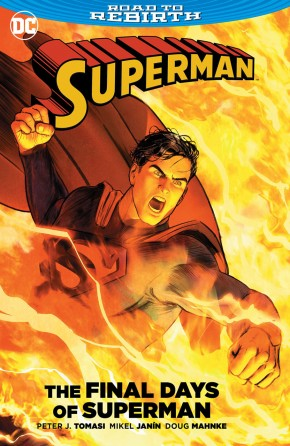 SUPERMAN THE FINAL DAYS OF SUPERMAN HARDCOVER