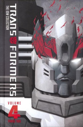 TRANSFORMERS IDW COLLECTION PHASE TWO VOLUME 4 HARDCOVER