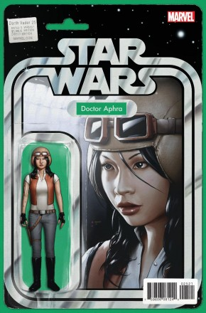 DARTH VADER #25 (2015 SERIES) DOCTOR APHRA ACTION FIGURE VARIANT COVER