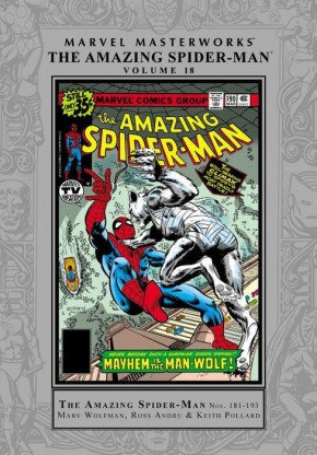 MARVEL MASTERWORKS AMAZING SPIDER-MAN VOLUME 18 HARDCOVER (Small Tear On Dust Jacket)