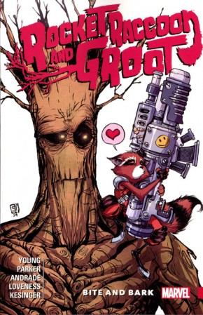 ROCKET RACCOON AND GROOT VOLUME 00 BITE AND BARK GRAPHIC NOVEL