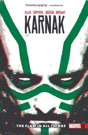 KARNAK FLAW IN ALL THINGS GRAPHIC NOVEL