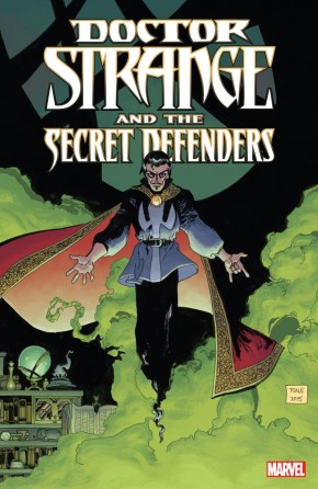 DOCTOR STRANGE AND THE SECRET DEFENDERS GRAPHIC NOVEL