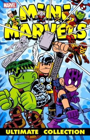 MINI MARVELS COMPLETE COLLECTION GRAPHIC NOVEL