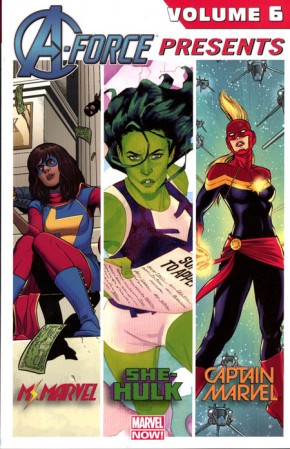 A-FORCE PRESENTS VOLUME 6 GRAPHIC NOVEL