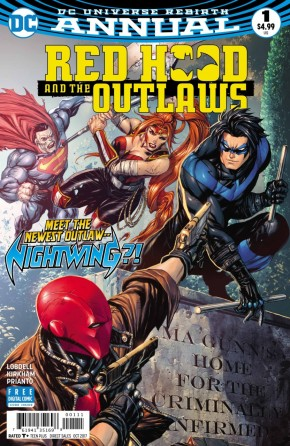 RED HOOD AND THE OUTLAWS ANNUAL #1 (2016 SERIES)