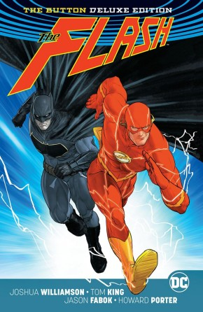 BATMAN FLASH THE BUTTON DELUXE INTERNATIONAL EDITION HARDCOVER