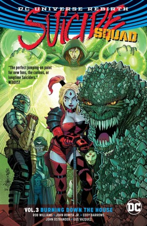 SUICIDE SQUAD VOLUME 3 BURNING DOWN THE HOUSE GRAPHIC NOVEL