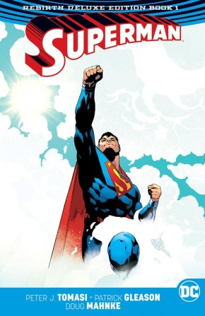 SUPERMAN REBIRTH BOOK 1 DELUXE COLLECTION HARDCOVER