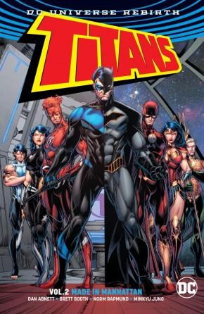 TITANS VOLUME 2 MADE IN MANHATTAN GRAPHIC NOVEL