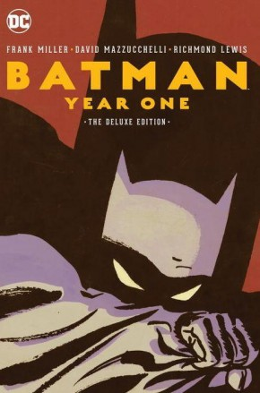 BATMAN YEAR ONE DELUXE EDITION HARDCOVER
