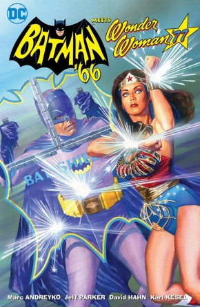 BATMAN 66 MEETS WONDER WOMAN 77 HARDCOVER