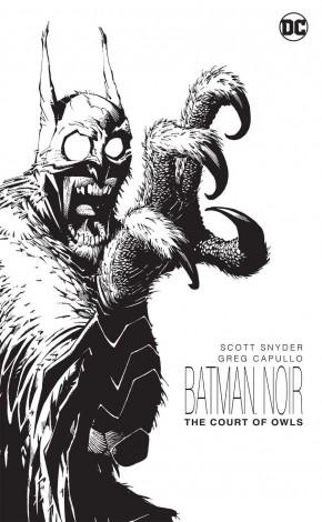 BATMAN NOIR THE COURT OF OWLS HARDCOVER