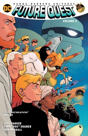 FUTURE QUEST VOLUME 2 GRAPHIC NOVEL