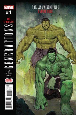 GENERATIONS BANNER HULK AND TOTALLY AWESOME HULK #1