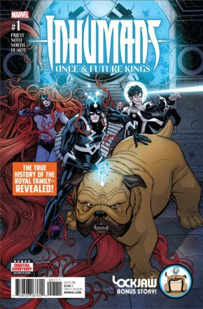 INHUMANS ONCE FUTURE KINGS #1