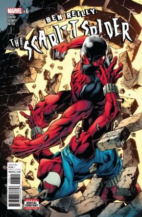 BEN REILLY SCARLET SPIDER #6