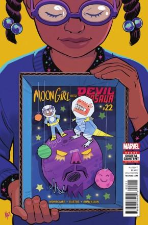 MOON GIRL AND DEVIL DINOSAUR #22