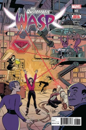 UNSTOPPABLE WASP #8 (2017 SERIES)