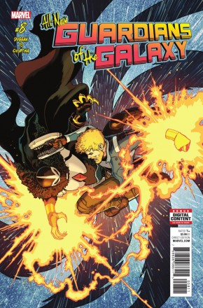 ALL NEW GUARDIANS OF THE GALAXY #8