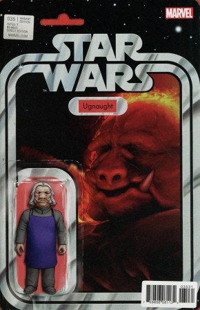 STAR WARS #35 (2015 SERIES) CHRISTOPHER ACTION FIGURE VARIANT