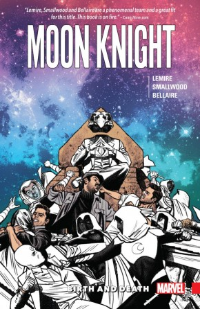 MOON KNIGHT VOLUME 3 BIRTH AND DEATH GRAPHIC NOVEL