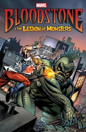 BLOODSTONE AND THE LEGION OF MONSTERS GRAPHIC NOVEL