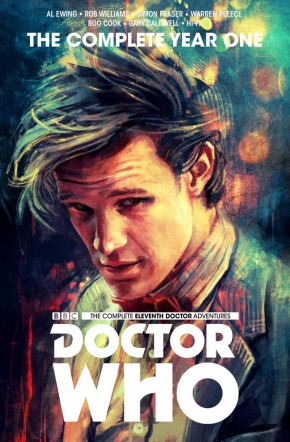 DOCTOR WHO 11TH DOCTOR COMPLETE EDITION YEAR ONE HARDCOVER