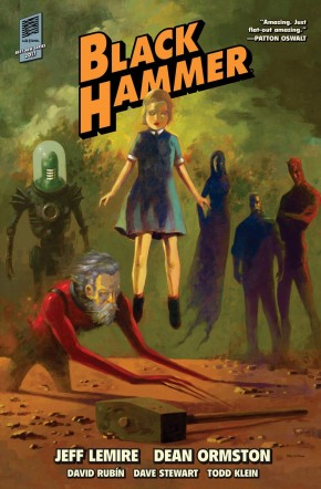 BLACK HAMMER LIBRARY EDITION VOLUME 1 HARDCOVER