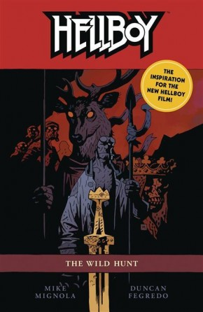 HELLBOY THE WILD HUNT GRAPHIC NOVEL
