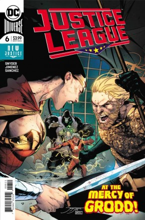 JUSTICE LEAGUE #6 (2018 SERIES)