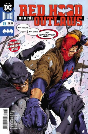 RED HOOD AND THE OUTLAWS #25 (2016 SERIES)