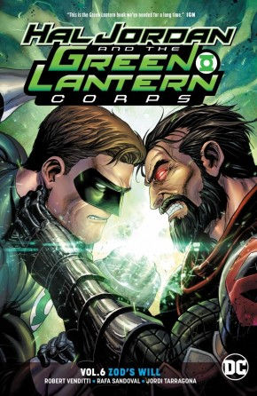 HAL JORDAN AND THE GREEN LANTERN CORPS VOLUME 6 ZODS WILL GRAPHIC NOVEL
