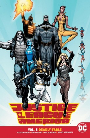 JUSTICE LEAGUE OF AMERICA VOLUME 5 DEADLY FABLE GRAPHIC NOVEL