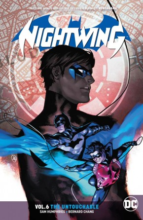 NIGHTWING VOLUME 6 THE UNTOUCHABLE GRAPHIC NOVEL