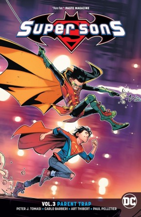 SUPER SONS VOLUME 3 PARENT TRAP GRAPHIC NOVEL