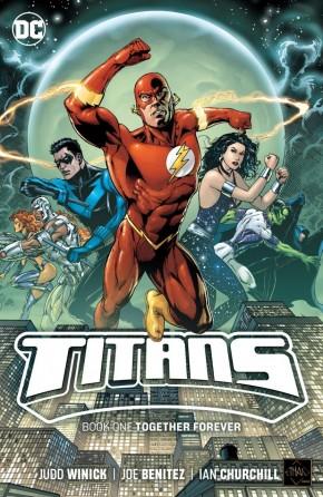 TITANS BOOK 1 TOGETHER FOREVER GRAPHIC NOVEL