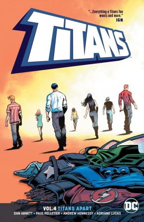 TITANS VOLUME 4 TITANS APART GRAPHIC NOVEL