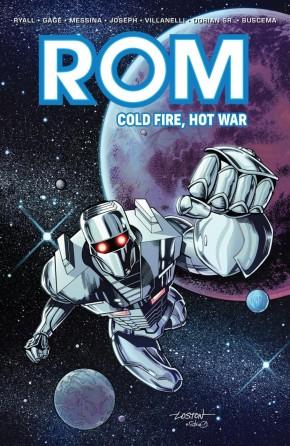 ROM COLD FIRE HOT WAR GRAPHIC NOVEL