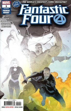 FANTASTIC FOUR #1 RIBIC PREMIERE VARIANT (2 PER STORE VARIANT)