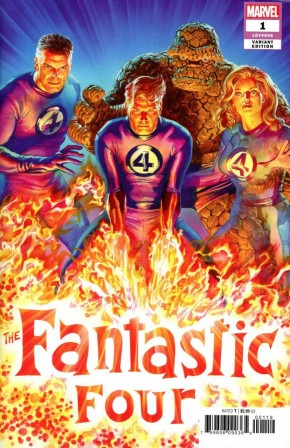 FANTASTIC FOUR #1 ROSS VARIANT (1 IN 50 INCENTIVE)