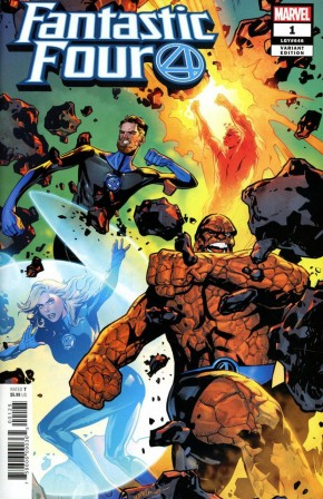 FANTASTIC FOUR #1 LUPACCHINO VARIANT (1 IN 25 INCENTIVE VARIANT)