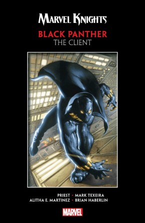 MARVEL KNIGHTS BLACK PANTHER BY PRIEST AND TEXEIRA CLIENT GRAPHIC NOVEL