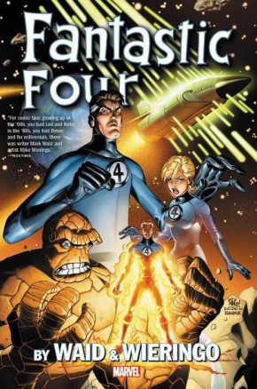 FANTASTIC FOUR BY WAID AND WIERINGO OMNIBUS HARDCOVER
