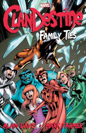 CLANDESTINE FAMILY TIES GRAPHIC NOVEL