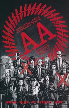 AVENGERS ARENA THE COMPLETE COLLECTION GRAPHIC NOVEL