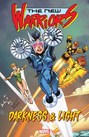 NEW WARRIORS DARKNESS AND LIGHT GRAPHIC NOVEL