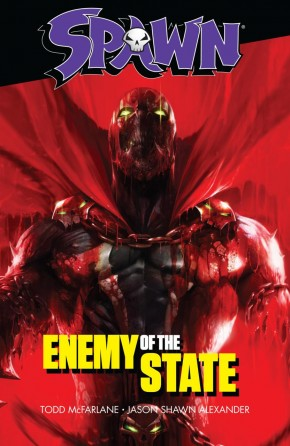 SPAWN ENEMY OF THE STATE GRAPHIC NOVEL