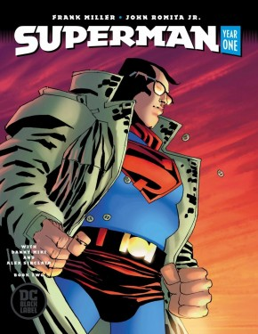 SUPERMAN YEAR ONE #2 MILLER COVER